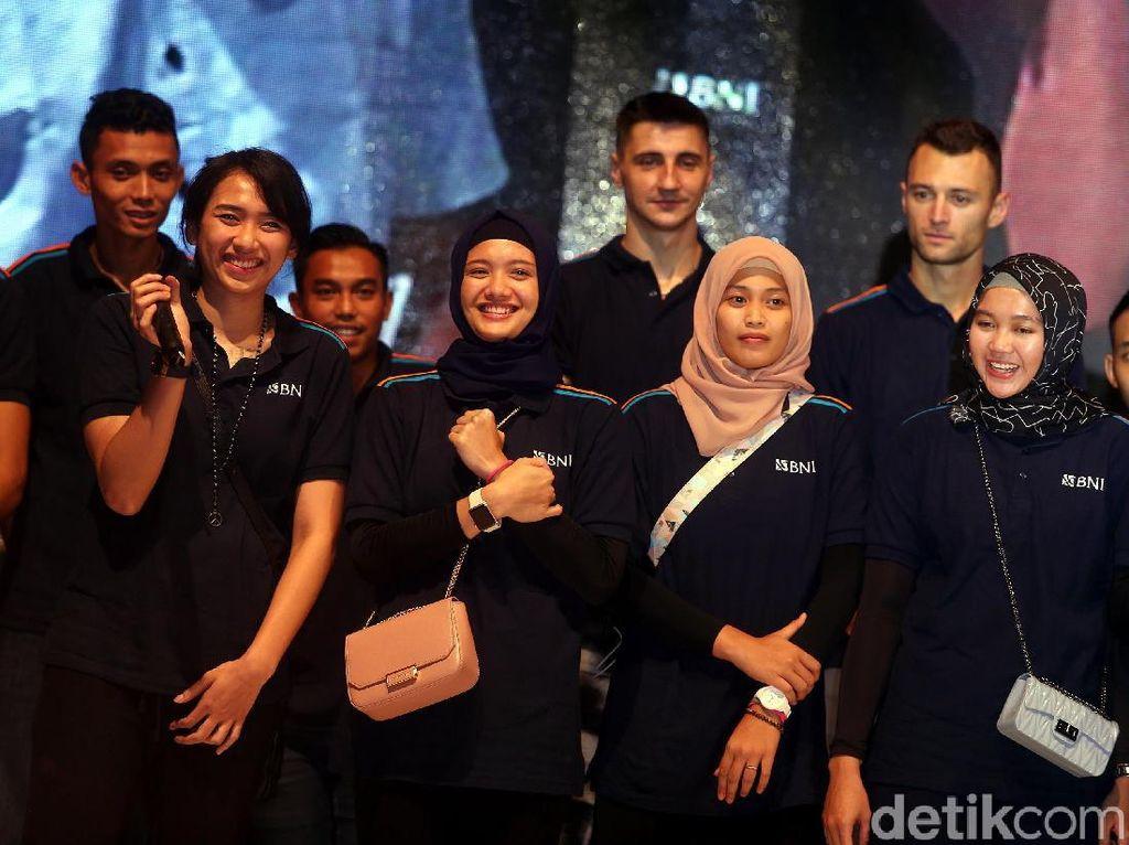 Tim ini diperkenalkan ke publik oleh Manajer Tim Loudry Maspaitela di Jakarta, sebagai bagian dari acara Year End Celebration (YEC) 2017 yang dihadiri Wakil Direktur Utama BNI Herry Sidharta, Jajaran Komisaris BNI, dan Jajaran Direksi BNI.
