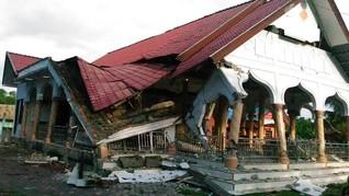 Bupati Sebut Rumah di Pandeglang Runtuh Usai Gempa Banten