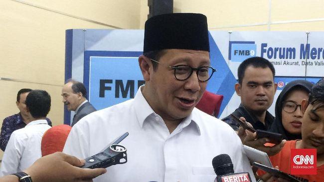 Menag Ingatkan Ulama Tak Ceramah Politik di Masjid