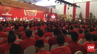 Ada Singkong Super di Rakornas PDIP