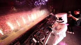Musik 'Eta Terangkanlah' Jadi Aksi Kejutan Marshmello di DWP