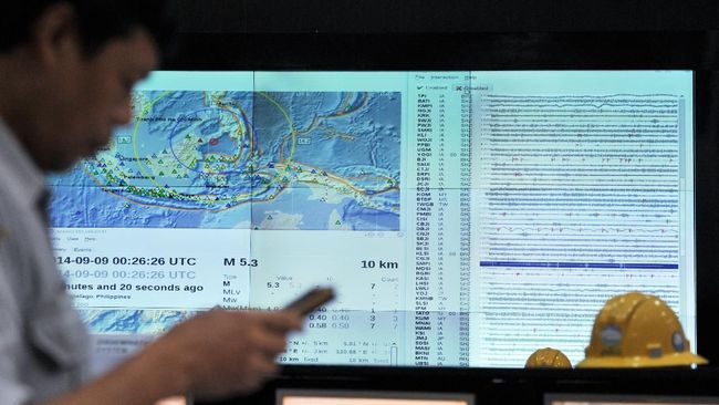 Kabupaten Lebak Diguncang Tiga Gempa Bumi