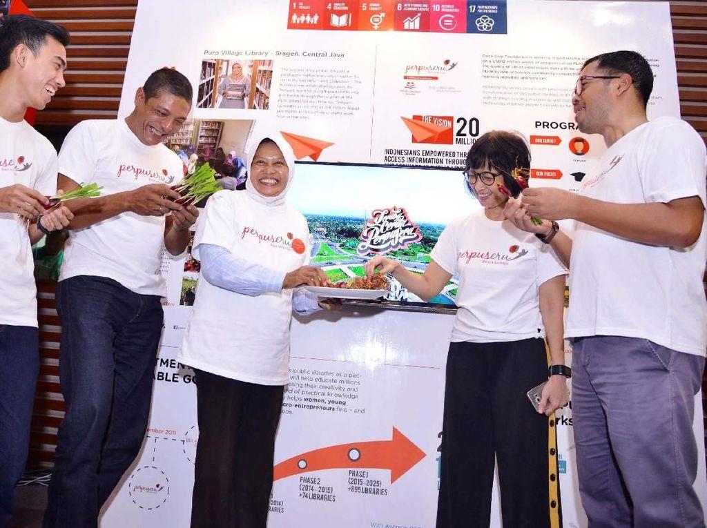 Inspirasi PerpuSeru Sumatera-Indonesia Timur