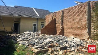 Detik-Detik Mengerikan Gempa Guncang Pangandaran