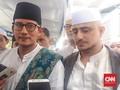Sandi Sebut Aksi Bela Palestina Momen Tepat Dukung Jokowi