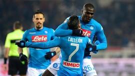 Hasil Liga Italia: Napoli Gusur Inter Milan di Puncak Serie A