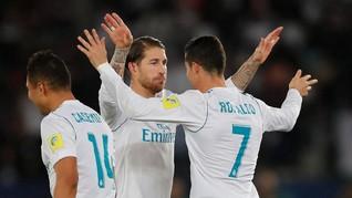 Cristiano Ronaldo Tak Diundang ke Pernikahan Sergio Ramos