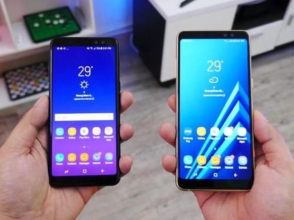 Kerennya Galaxy A8 dan A8+ yang Mirip Galaxy S8