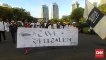 Ada Aksi Bela Palestina, KRL Sediakan 16 Loket Portabel
