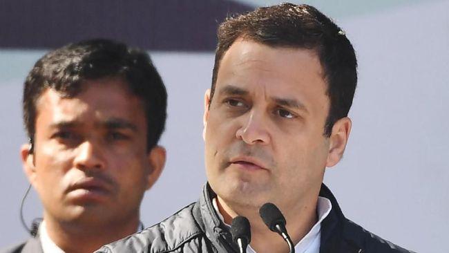 Rahul Gandhi Resmi Jadi Presiden Partai Kongres India
