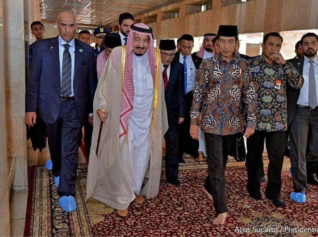 Foto: Mengintip Gaya Paspampres Pemimpin Dunia, Jokowi Sampai Trump