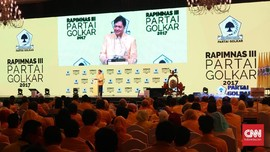 Rapimnas, Golkar Tegaskan Dukungan untuk Jokowi di 2019