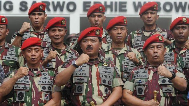 Pelibatan Koopsusgab TNI Tunggu RUU Terorisme Disahkan