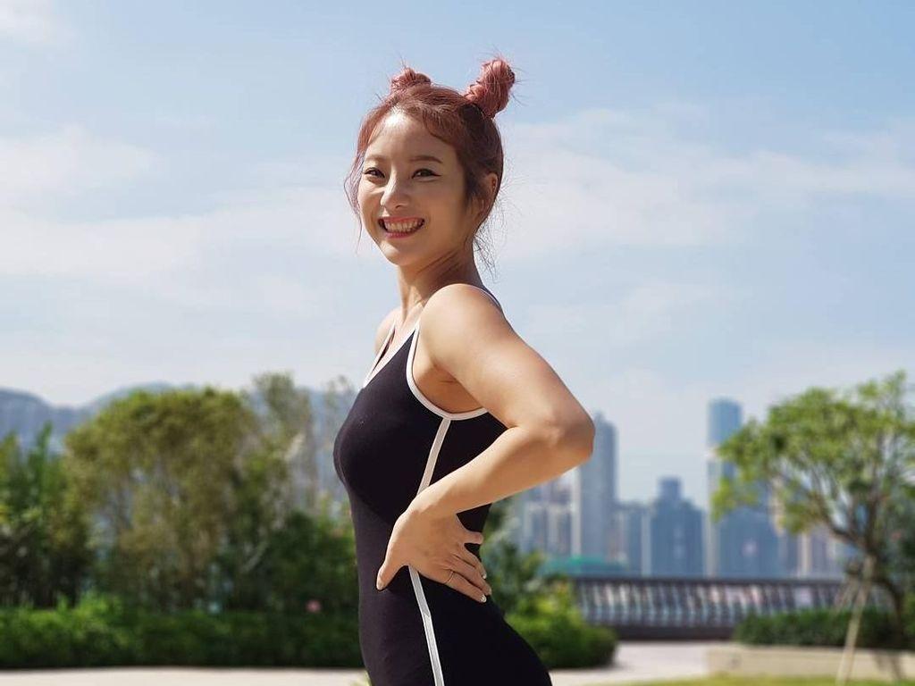 Foto: Cantiknya Guru Fitnes yang Punya Bokong Indah karena Rajin Squat