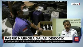 VIDEO: Lima Orang Jadi Tersangka Kasus Sabu Diskotek MG