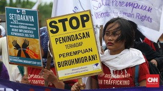 Demi Lindungi TKW, Perempuan Desak RUU Kekerasan Seksual