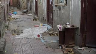 FOTO:  Dulu Ramai Pendatang Kini Jadi 'Kota Hantu' di China