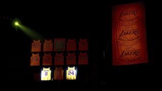 FOTO: Nomor 8 dan 24 Kobe Bryant Abadi
