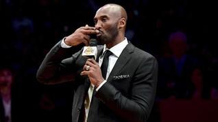 Bryant Terharu Nomor 8 dan 24 Miliknya Abadi di Lakers