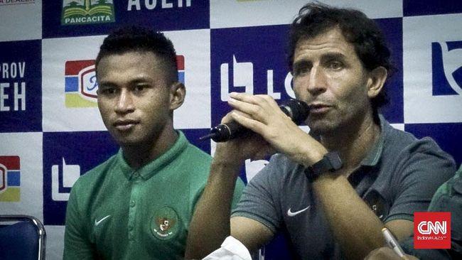 Luis Milla Kecewa Tiga Pemain Timnas Indonesia Cedera