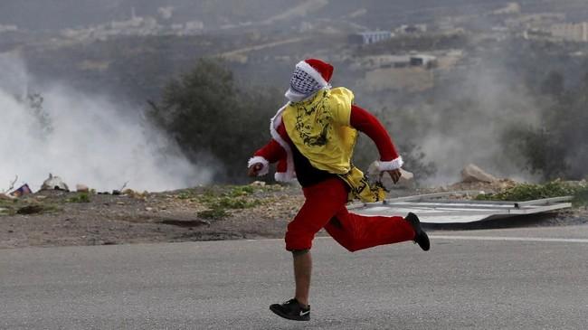 Pada Senin (18/12), AS memveto rancangan resolusi Dewan Keamanan Perserikatan Bangsa-bangsa (DK PBB) yang menolak keputusan Presiden Donald Trump untuk mengakui Yerusalem sebagai Ibu Kota Israel. (Reuters/Mohamad Torokman)