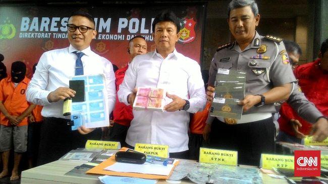 Polisi Ungkap Sindikat Pengedar Uang dan BPKB Palsu