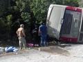 Kecelakaan Bus di Meksiko, 12 Turis Tewas