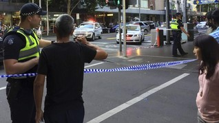 Pria AS Tabrak Kerumunan karena Terlihat Seperti Muslim