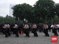Ribuan Personel TNI-Polri Amankan Malam Tahun Baru di Jakarta