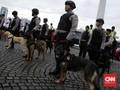 Polisi Jaga Pusat Belanja Cegah Aksi Borong Terkait Corona