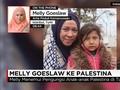 VIDEO: Kesenduan Melly Goeslaw Soal Pengungsi Palestina