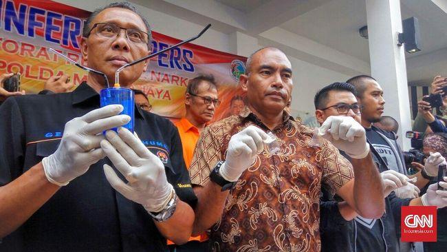 'Tio Pakusadewo Pakai Sabu Selama 10 Tahun'
