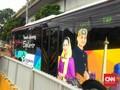 Menjajal Bus Gratis 'Tanah Abang Explorer'