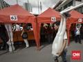 FOTO: Wajah Baru Jatibaru dan Lapak Gratis PKL Tanah Abang