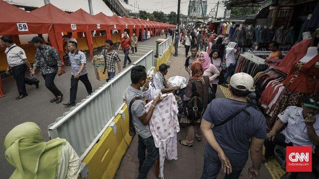 Rasa Cemas di Wajah Senang PKL Tanah Abang Usai Ditata
