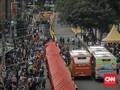 Penataan Tanah Abang Sebabkan 17 Titik Rawan Kemacetan