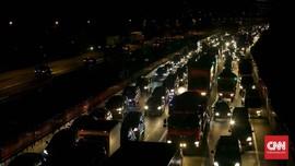 Arus Balik Paskah, Truk Dilarang Masuk Tol Cikampek 1-2 April