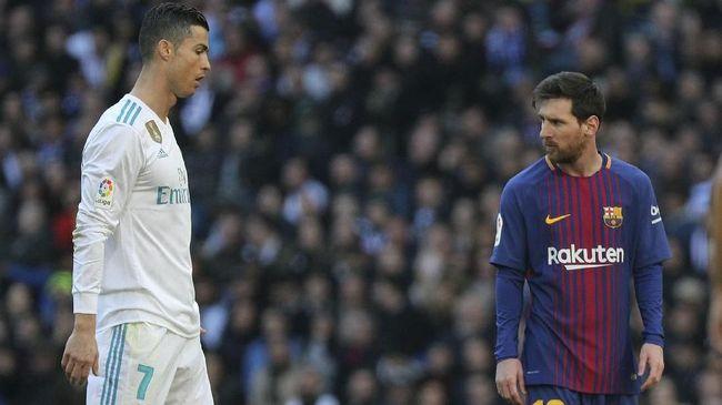 Messi Tak Merasa Bersaing dengan Ronaldo