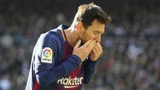 Messi Bisa Tinggalkan Barcelona Jika Catalonia Merdeka