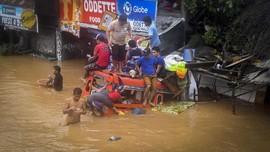 FOTO: Badai Tropis Tembin Tewaskan Ratusan Orang di Filipina