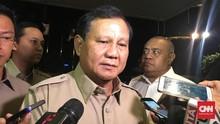 Prabowo Calon Terkuat di 2024, Gerindra Sebut Terlalu DIni