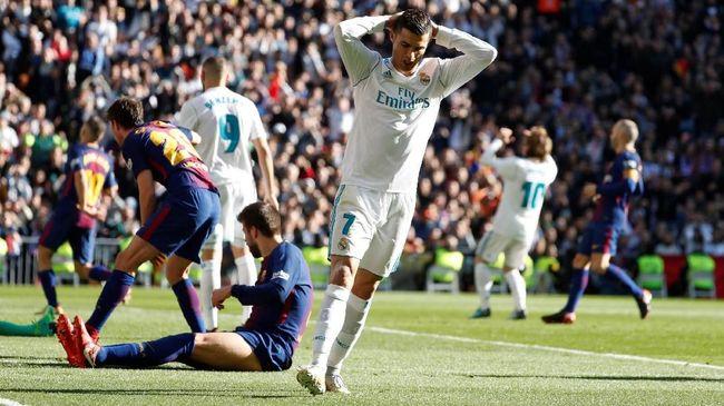 Real Madrid Merana karena Tak Mampu Cetak Gol