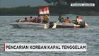 Pencarian Korban Kapal Tenggelam di Waduk Cirata, Purwakarta