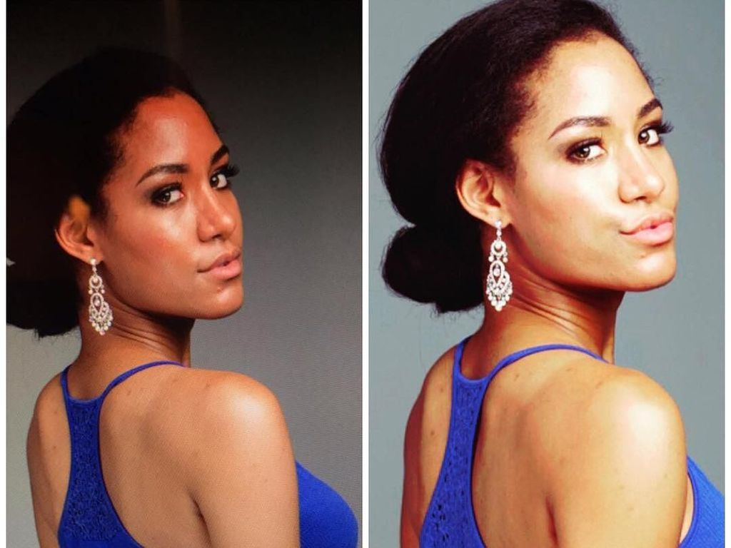 Foto: Lukwesa Morin, Model 25 Tahun Kembaran Meghan Markle