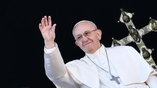 Paus Fransiskus Tolak Restui Pria Menikah Jadi Imam di Amazon