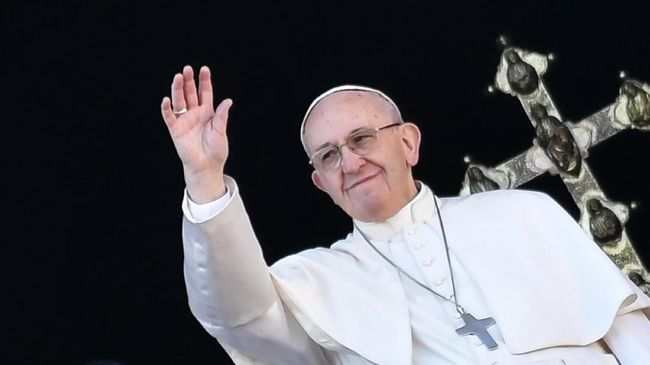 Natal, Paus Doakan Anak-anak Korban Perang di Timur Tengah