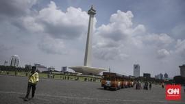 Hari Terakhir Libur Lebaran di Jakarta Diprediksi Cerah