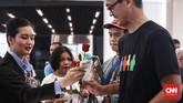 Keberangkatan pertama kereta bandara dari Stasiun Sudirman BNI City, akan dimulai pukul 3.40 pagi dan berakhir pukul 21.40 malam. Jakarta. Selasa, 26 Desember 2017.CNN Indonesia/Andry Novelino
