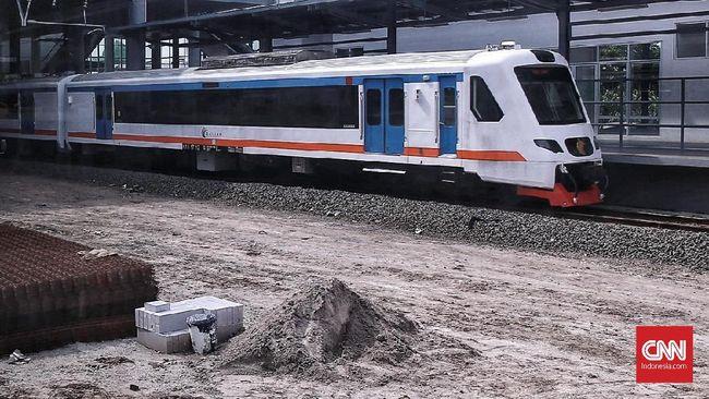 Polisi Selidiki Aksi Coret-coret Kereta Bandara Soetta