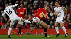 Manchester United Tertinggal 0-2 dari Burnley di Babak I